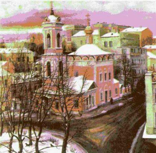 Сочинение в форме дневниковой записи по картине Назаренко «Церковь Вознесения» 2