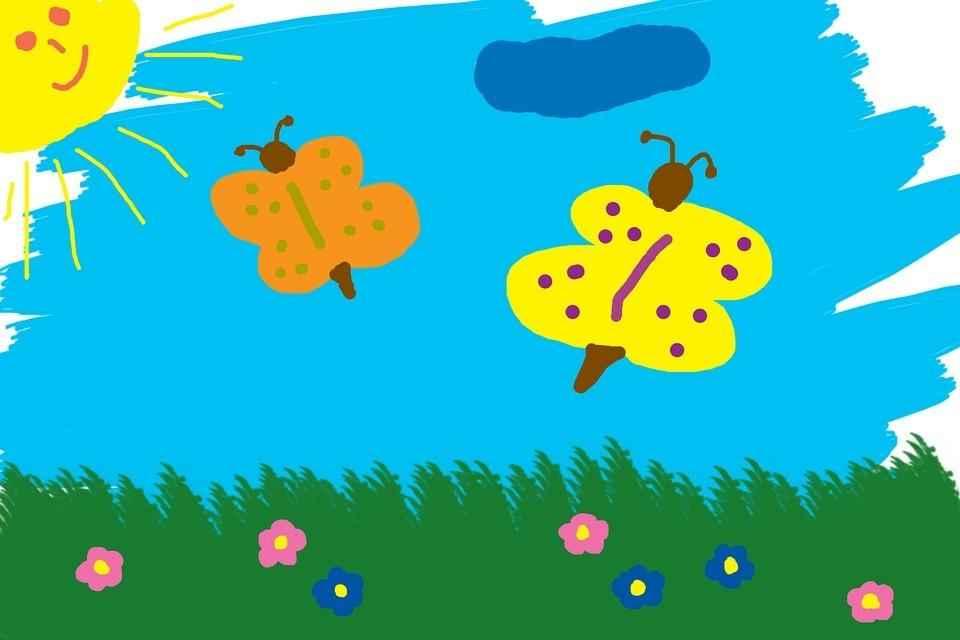 Цветные картинки веселого солнца с лучиками для детей 37