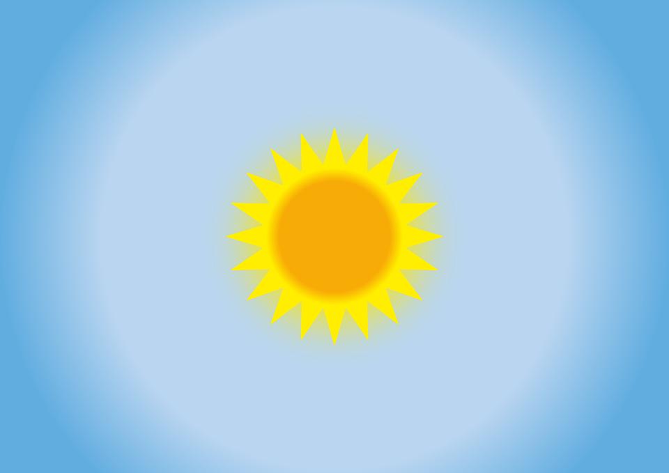 Цветные картинки веселого солнца с лучиками для детей 4