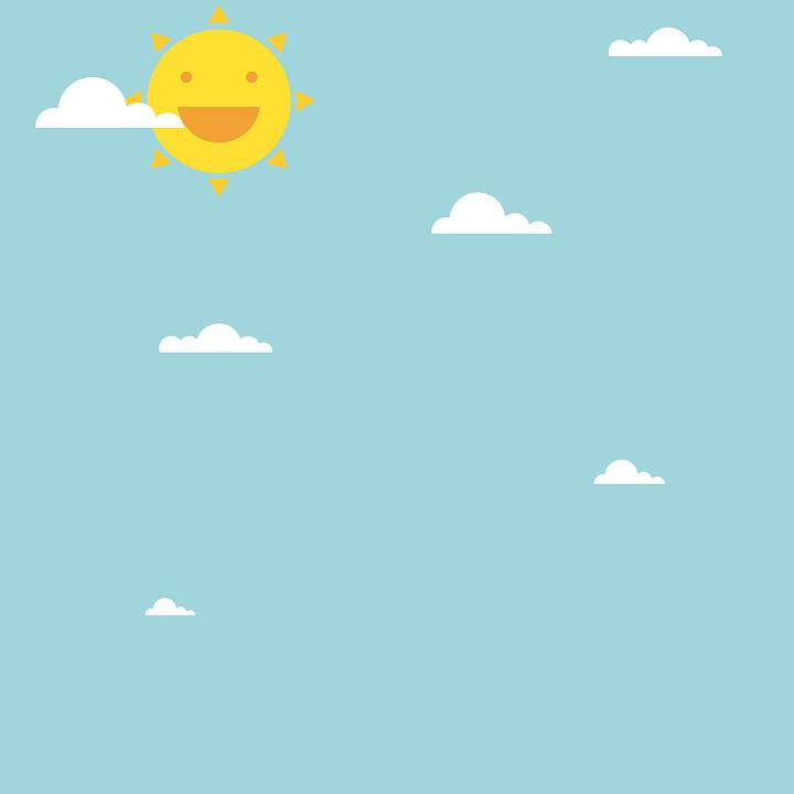 Цветные картинки веселого солнца с лучиками для детей 25