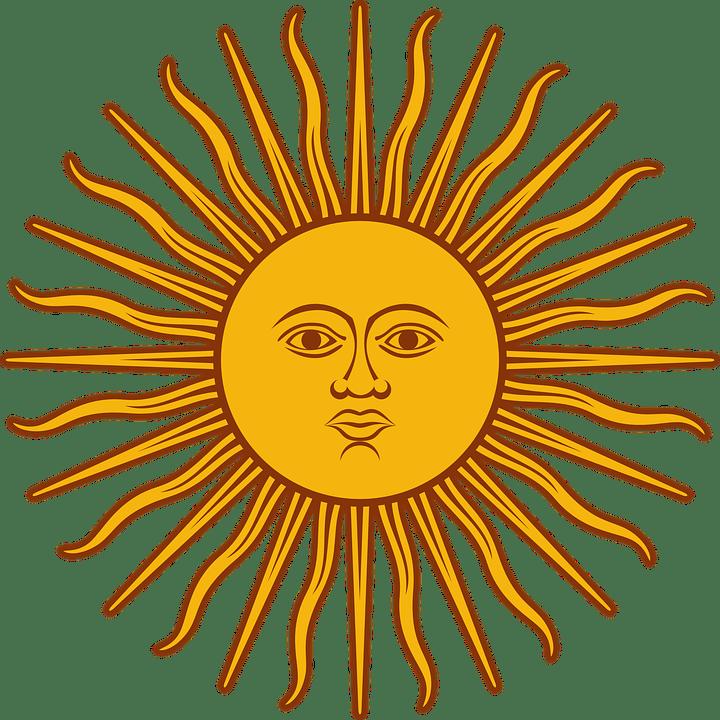 Цветные картинки веселого солнца с лучиками для детей 24
