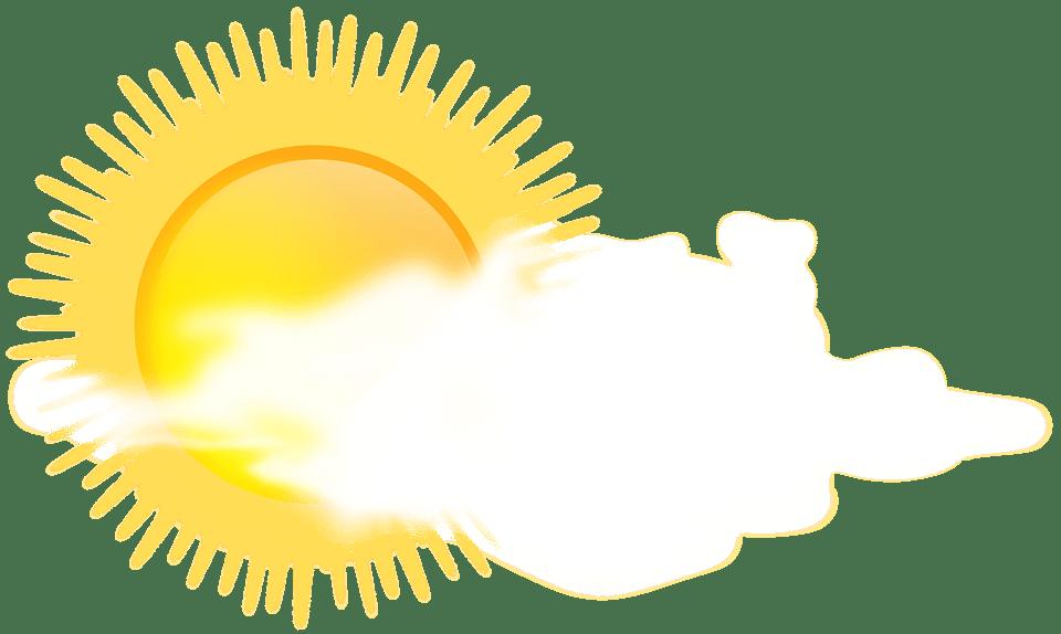 Цветные картинки веселого солнца с лучиками для детей 27