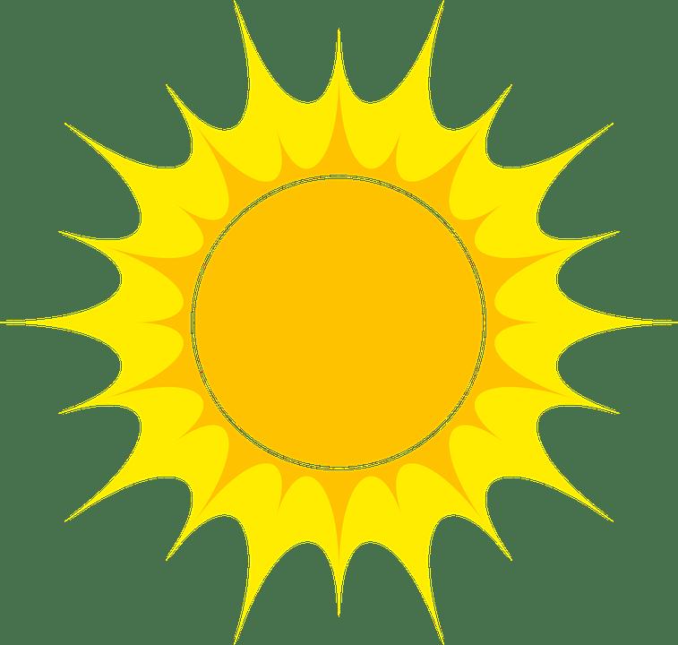 Цветные картинки веселого солнца с лучиками для детей 5