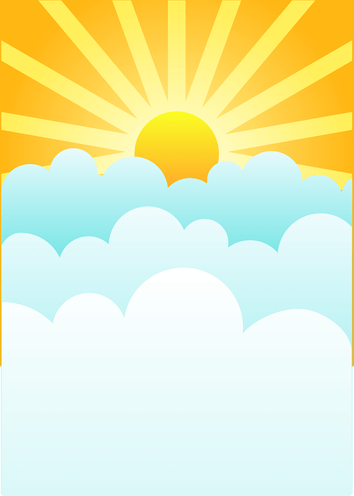 Цветные картинки веселого солнца с лучиками для детей 29