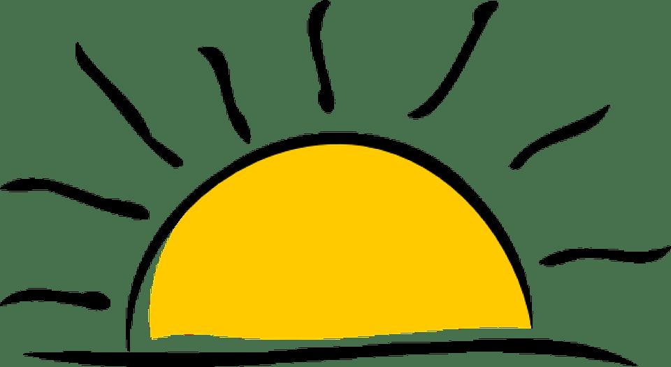 Цветные картинки веселого солнца с лучиками для детей 9