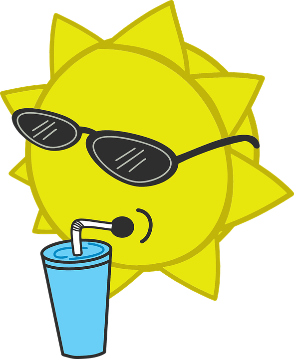 Цветные картинки веселого солнца с лучиками для детей 19