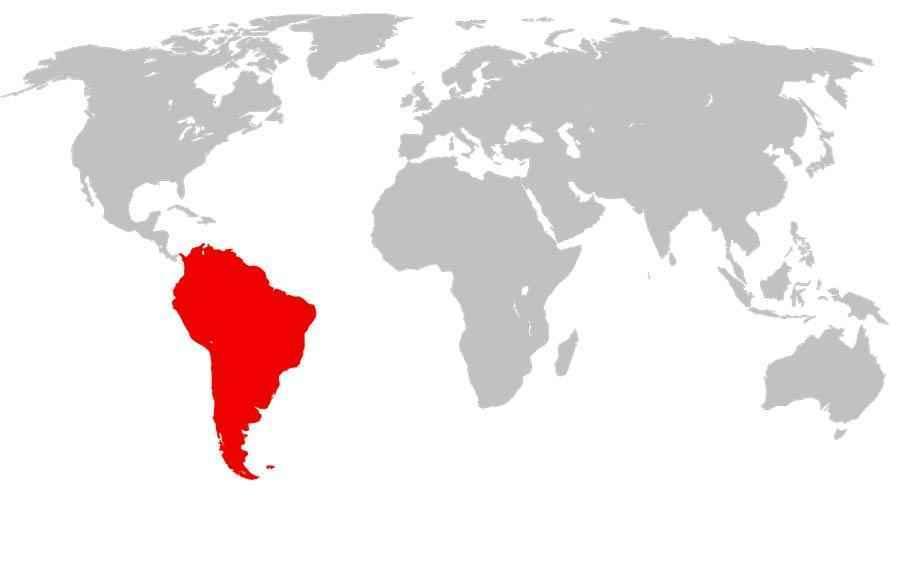 Крайняя южная точка Южной Америки