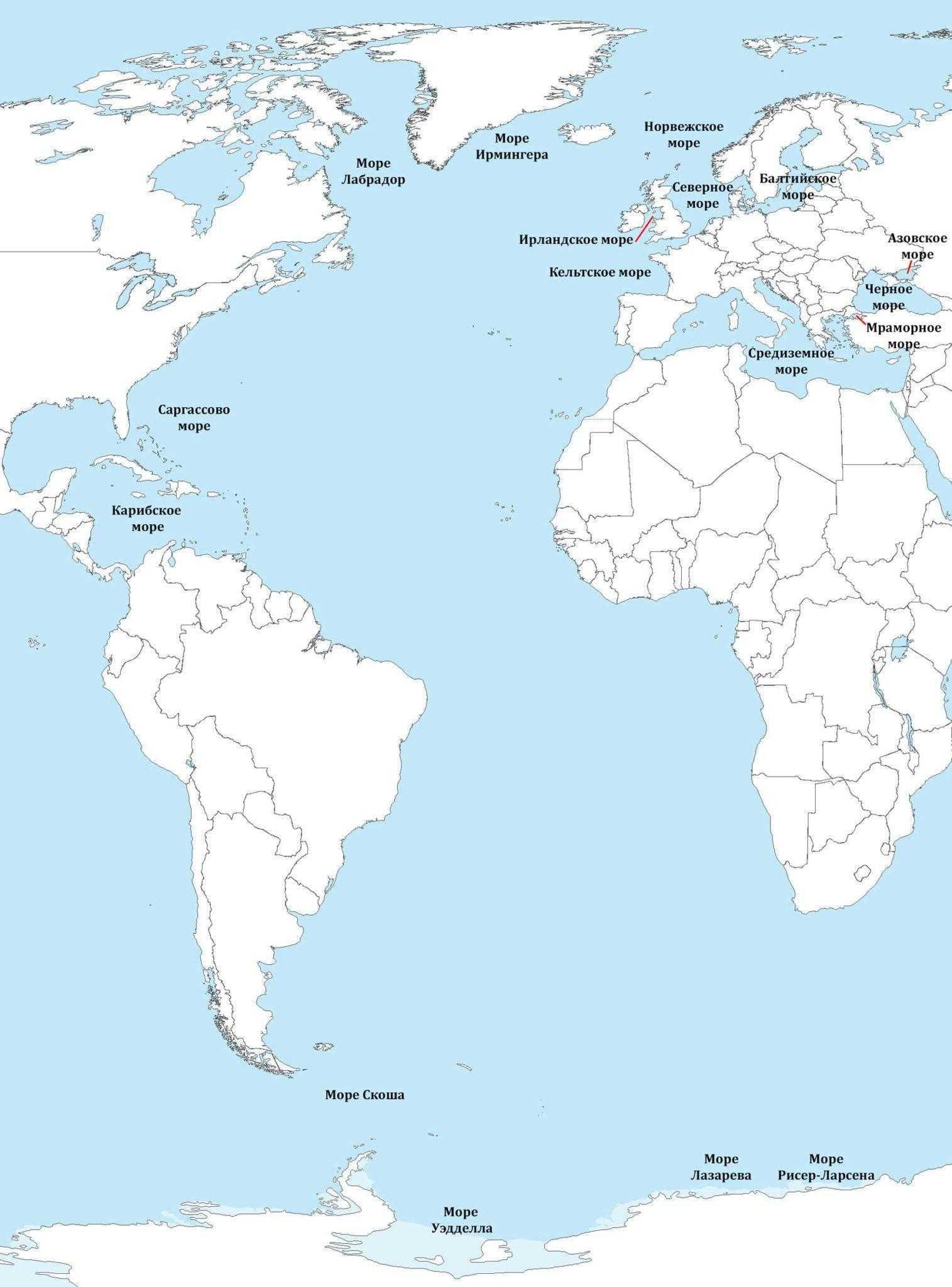 какое место занимает по площади индийский океан