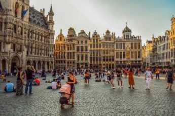 Европа, Бельгия, площадь, люди, население, география