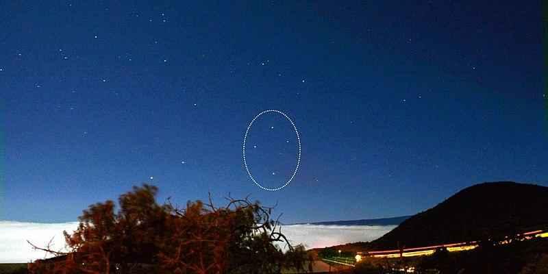 Ориентирование по звездам в Северном и Южном полушарии Земли? 3