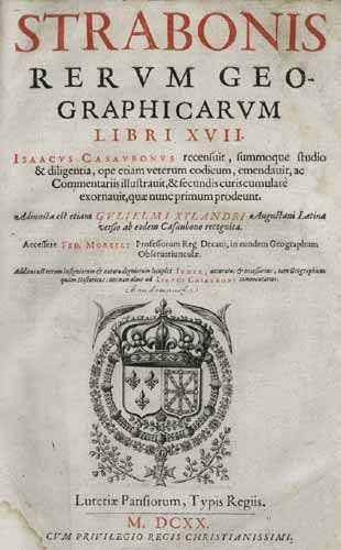 Страбон - краткая биография, работы ученого по географической и исторической наукам 3