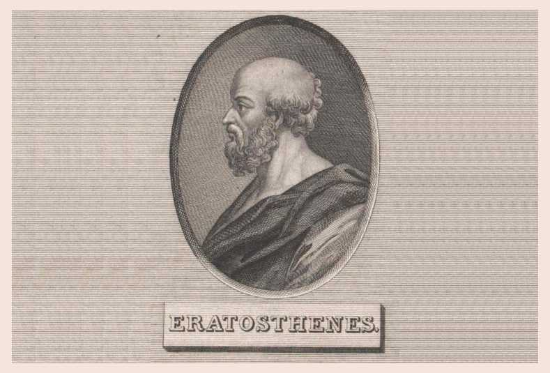 Эратосфен Киренский, портрет, биография, открытия